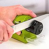 Точилка для ножей электрическая беспроводная Swifty Sharp., фото 6