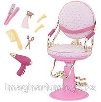 Кукольное кресло Our Generation Салон красоты с аксессуарами