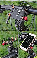 """Металлический держатель телефона на велосипеде, электросамокате """"Deemount"""". Рассрочка. Kaspi RED"""