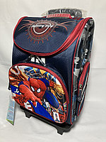 Школьный рюкзак на колесах для мальчика,1-3-й класс. Высота 47 см, ширина 31 см, глубина 22 см., фото 1