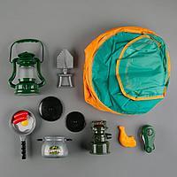 CampSet: Наб-ор для игры в поход 8 предметов со сковородкой