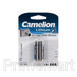 Батарейка CAMELION Lithium P7 FR03-BP2 2 шт. в блистере