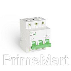 Автоматический выключатель реечный iPower ВА47-63 3Р 32А