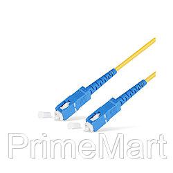 Патч Корд Оптоволоконный SC/UPC-SC/UPC SM 9/125 Simplex 3.0мм 1 м