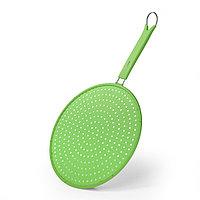 Защитный экран 29 см для сковороды от брызг (силикон)