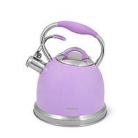 Чайник для кипячения воды FELICITY 2,6л, цвет ФИОЛЕТОВЫЙ (нерж.стал