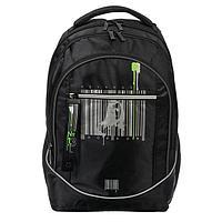 Рюкзак молодежный, Hatber, Street, 42x30х20 см, эргономичная спинка, «Штрих-код»