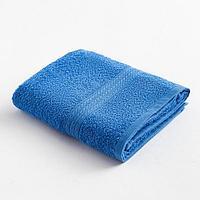 """Полотенце махровое """"ВЫГОДА"""" 50х80 см, цв. светло-синий 100% хлопок"""