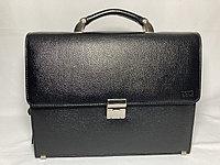 """Деловой кожаный портфель для мужчин"""" BOND NON"""".Высота 27 см, ширина 35 см, глубина 9 см., фото 1"""