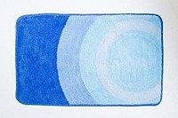 Коврик для ванной, голубой/круги 40*60 (76) (Аквалиния, Россия)