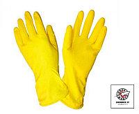 Перчатки резиновые усиленные Лотос