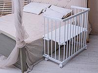 Приставная кроватка Tomix Pookie белый