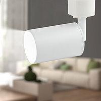 Трековый светильник однофазный ЭРА TR13-GU10 WH MR16 белый, фото 1