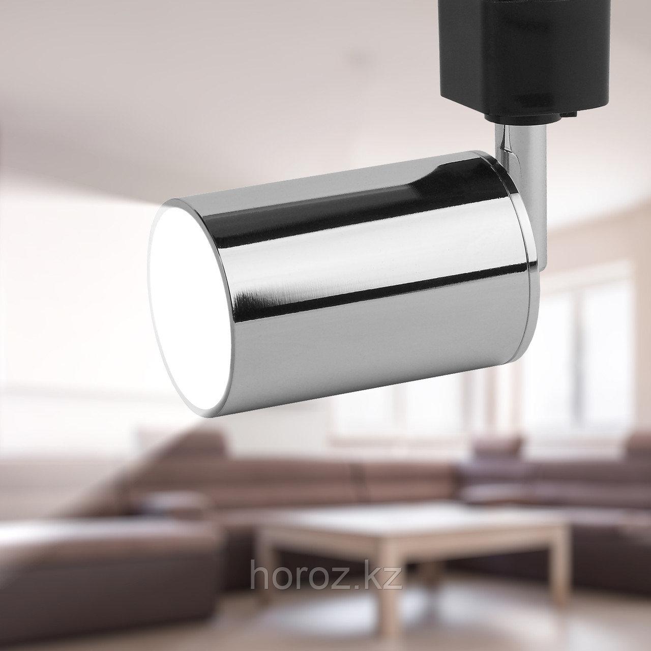 Трековый светильник однофазный ЭРА TR14-GU10 CH MR16 хром