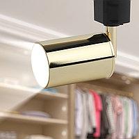 Трековый светильник однофазный ЭРА TR14-GU10 GD MR16 золото, фото 1