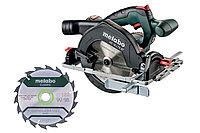 METABO Аккумуляторные ручные циркулярные пилы Set KS 18 LTX 57