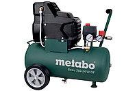 METABO Компрессоры Basic 250-24 W OF Компрессор безмасл.1.5кВт,24л