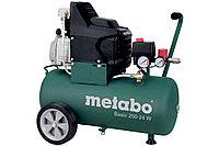METABO Компрессоры Basic 250-24 W Компрессор масл.1.5кВт,24л