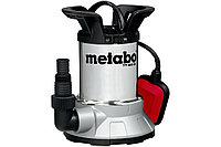 METABO Насосы TPF 6600 SN Насос погр.450Вт,6600л/ч,6м,попл,нерж