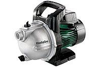 METABO Насосы P 4000 G садовый насос 1100Вт, 4000 л/ч, чугун
