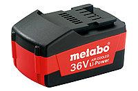 METABO Оснастка для аккумуляторных инструментов Аккумуляторный блок 36 В, 1,5 А·ч, Li-Power Compact
