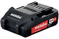 METABO Оснастка для аккумуляторных инструментов Аккумуляторный блок 18 В, 2,0 А·ч, Li-Power (625596000)