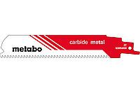 METABO Оснастка для сабельных пил Пилка для сабельных пил, «carbide metal», 150 x 1,25 мм (626556000)