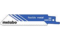 METABO Оснастка для сабельных пил 5 пилок для сабельных пил, «flexible metal», 100 x 0,9 мм (628267000)