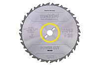 METABO Оснастка для дисковых пил Пильный д.450х3,5/2,5х30,HMZ=32FZ/FA,BKS450/BKH450