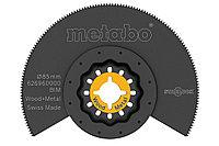 METABO Ручной инструмент Сегментное пильное полотно, дерево/металл, BiM, Ø 85 мм (626960000)
