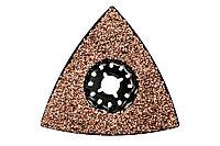 METABO Ручной инструмент Треугольная шлифовальная пластина, швы/шпаклевка, НМ, 78 мм (626963000)