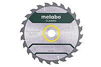 METABO Оснастка для дисковых пил Пильное полотно «power cut wood classic», 235×30 Z24 WZ 18° /B (628678000)