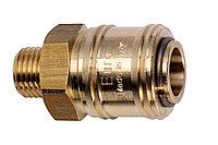METABO Оснастка для пневмоинструмента Быстроразъемная муфта Euro, внешняя резьба 1/2″ (0901025908)
