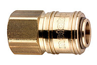 METABO Оснастка для пневмоинструмента Муфта БЗ внутренняя резьба 1/4, латунь, блистер