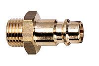 METABO Оснастка для пневмоинструмента Вставной резьбовой ниппель Euro, внешняя резьба 3/8″ (0901025991)