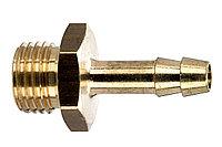 METABO Оснастка для пневмоинструмента Втулка-елочка нар.резьба 3/8х6 мм, латунь, блистер