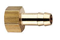METABO Оснастка для пневмоинструмента Втулка-елочка внутр.резьба 1/4х6мм,латунь,блистер
