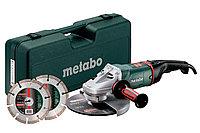 METABO Угловые шлифовальные машины высшего класса WEA 24-230 MVT Quick Set
