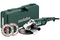 METABO Угловые шлифовальные машины высшего класса Set WE 2200-230