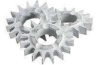 METABO Оснастка для фрезы RF14 10 фрезерных звездочек с остроконечным зубом, RFEV 19–125 RT (628270000)