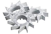 METABO Оснастка для фрезы RF14 10 фрезерных звездочек с плоским зубом, RFEV 19–125 RT (628271000)