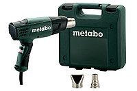 METABO Фены технические H 16-500 Фен 1600 вт, в кейсе,2 насадки