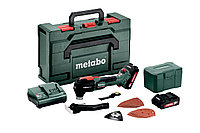 METABO Шлифмашины треугольные MT 18 LTX BL QSLАкк.мультитул 2х2.0Ач,MetaBOX