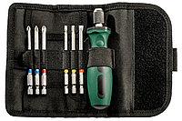 METABO Оснастка для шуруповертов Складная сумка для насадок «SP», 7 предм. (626723000)