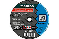 METABO Отрезные круги Flexiamant super 125×2,0x22,23, сталь, TF 41 (616107000)