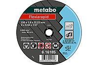 METABO Отрезные круги Flexiarapid 125×1,6×22,23, Inox, TF 41 (616182000)