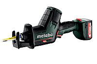 METABO Пилы сабельные PowerMaxx SSE 12 BL Акк.ножовка 2х2.0Ач,кейс