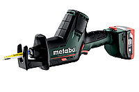 METABO Пилы сабельные PowerMaxx SSE 12 BL Акк.ножовка 2х4.0Ач LiHD,кейс