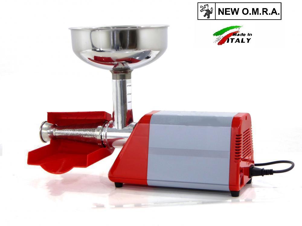 Электрическая соковыжималка New Omra Spremy TC5 850m шнековая для сока из томатов, ягод, фруктов