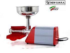 Шнековая электрическая соковыжималка для сока из томатов ягод, фруктов New Omra Spremy TC5 850M
